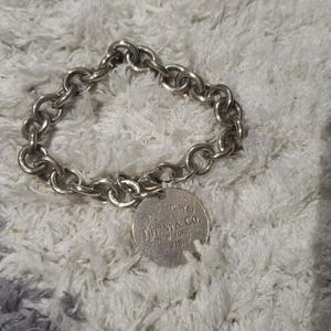 Authentic Tiffany & co. Silver bracelet